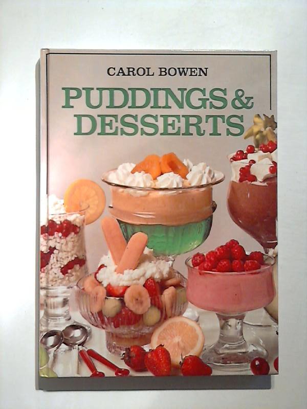 Puddings & Desserts.