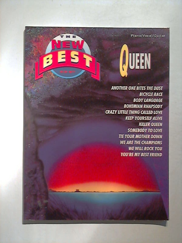 The New Best of Queen. Piano / Vocal / Guitar.