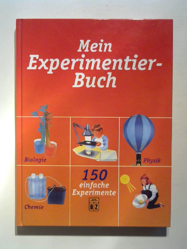 Mein Experimentierbuch.