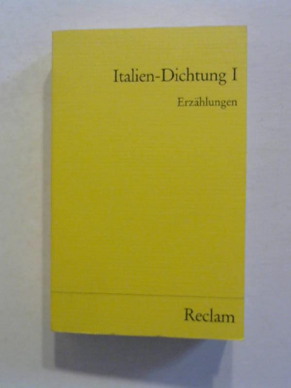 Grimm, Gunter E.: Italien - Dichtung 1: Erzählungen.