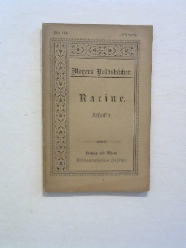 Racine: Althalia. Meyers Volksbücher Nr. 172.