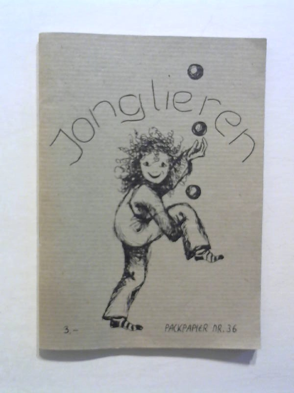 Jonglieren. Packpapier Nr. 36