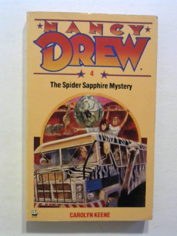 The Spider Sapphire Mystery. Nancy Drew 4.