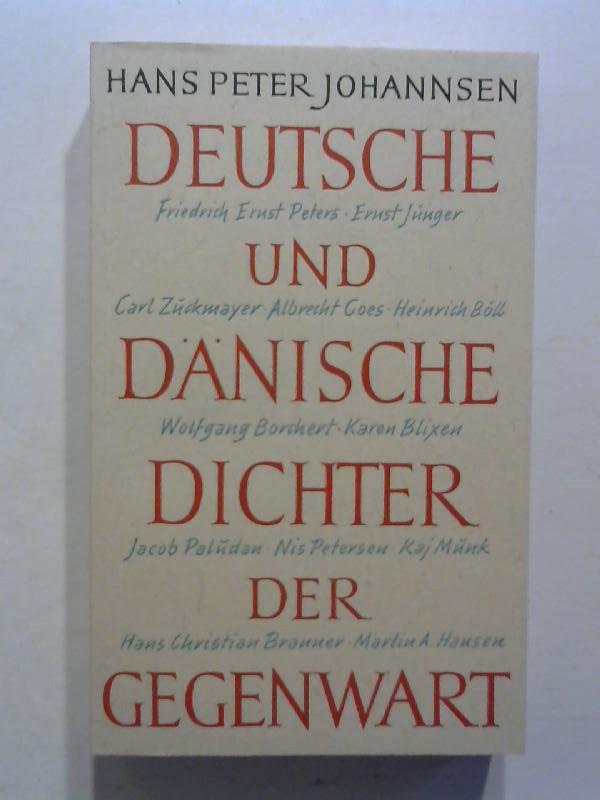 Deutsche und dänische Dichter der Gegenwart.