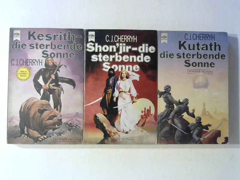 Cherryh, C. J.: Duncan Trilogie. Band 1: Kesrith - die sterbende Sonne, Band 2: Shon'jir - die sterbende Sonne, Band 3: Kutath - die sterbende Sonne.