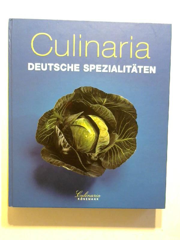 Culinaria. Deutsche Spezialitäten.