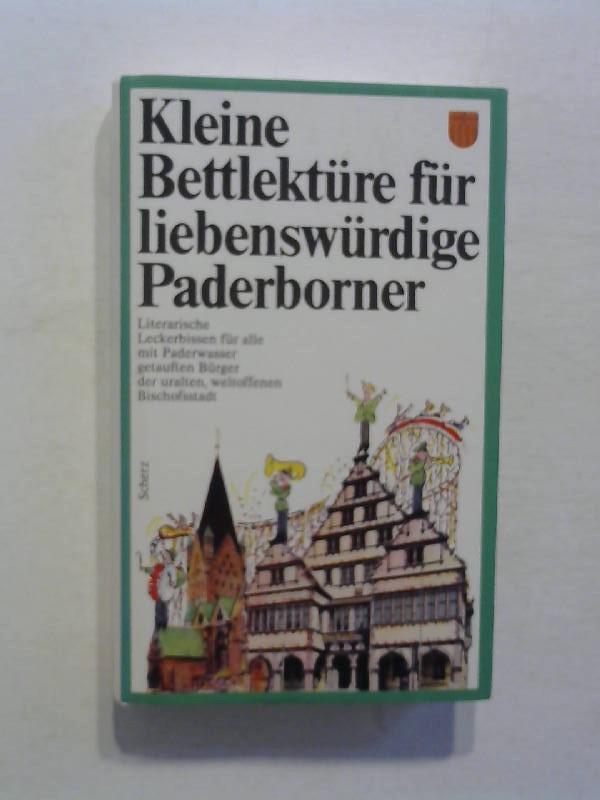 Damwerth, Dietmar: Kleine Bettlektüre für liebenswürdige Paderborner.