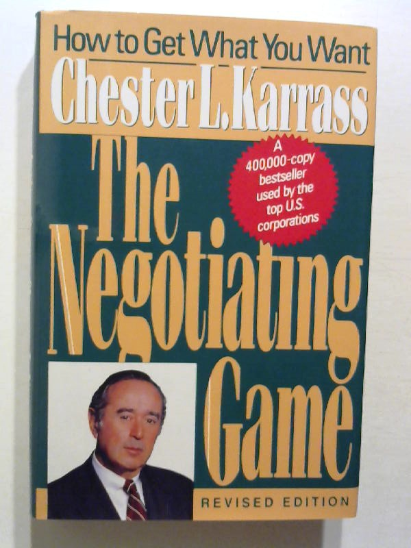 The Negotiating Game. revised edition