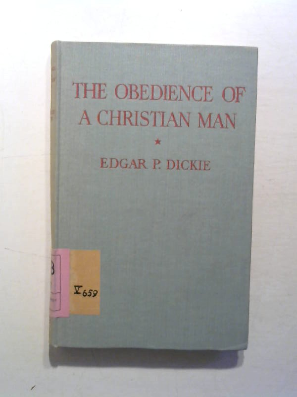 The obedience of a christian man.