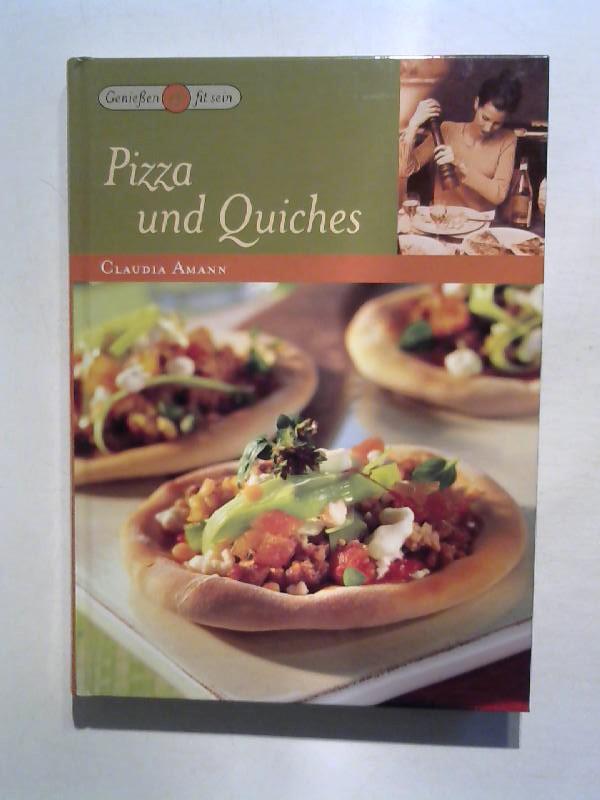 Pizza und Quiches.