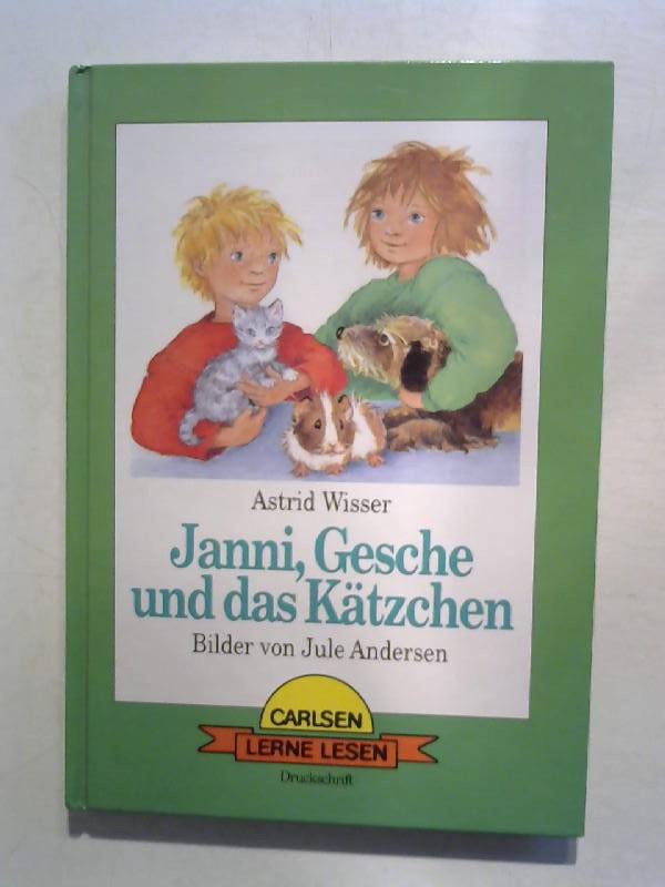 Wisser, Astrid: Janni, Gesche und das Kätzchen.