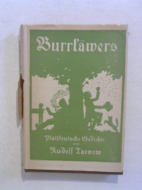 Burrkäwers. 3. Band. Plattdeutsche Gedichte. 1. Neuauflage