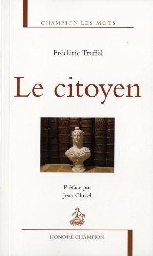 Le Citoyen Preface par Jean Cluzel