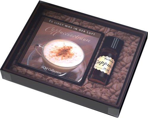 Cappuccinotraum Es liegt was in der Luft - Geschenkset mit Parfümöl