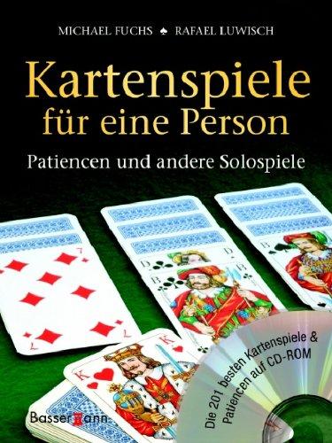 Kartenspiele für eine Person.