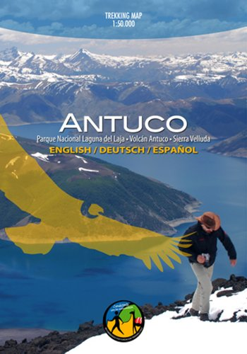 Chile Maps 7: Antuco Travel & Trekking Map 1:30 000, Dt/engl/span