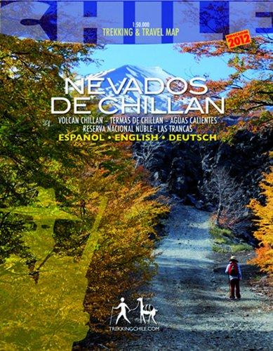 Chile Maps 6: Nevados de Chillan Travel & Trekking Map 1:50 000 - Dt/engl/span