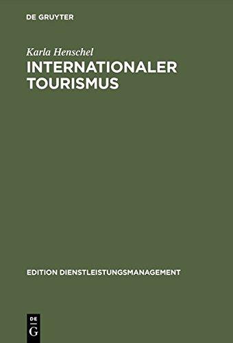 Internationaler Tourismus.