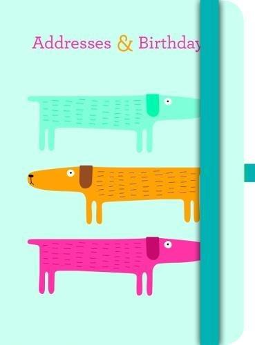 Green A&B Book DOGS Addresses & Birthdays