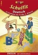 BINGO Schulfit Deutsch. So kommst du in die 2. Klasse