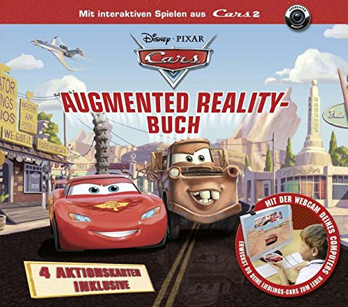 Cars. Augmented Reality-Buch Mit interaktiven Spielen aus Cars 2