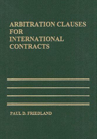 Arbitration Clauses for International