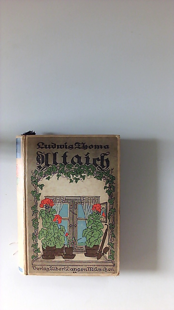 Altaich : Eine heitere Sommergeschichte. 61.-63. Tsd.