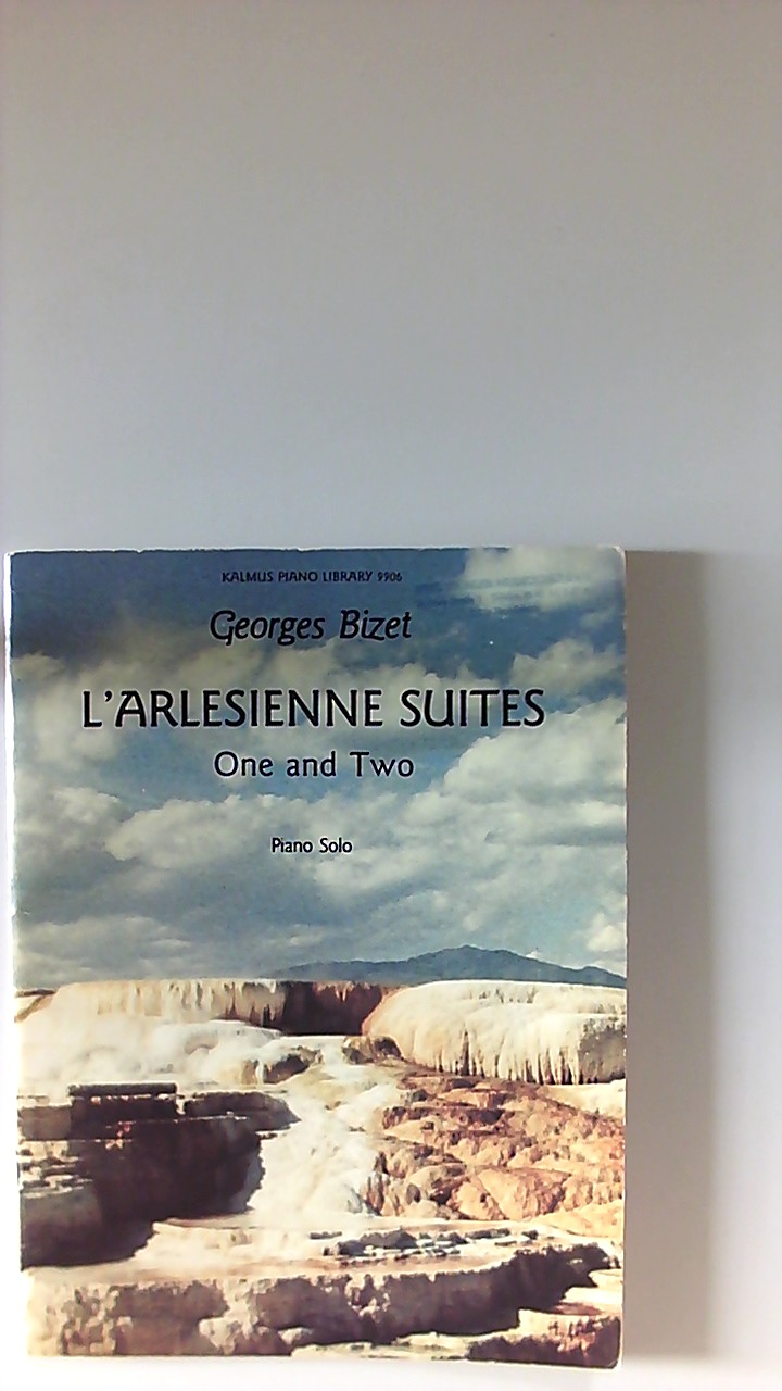 LArlesienne suites One and Two Piano solo Kalmus Piano Library 9906.