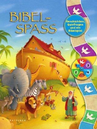 Bibelspaß Geschichten, Quizfragen und ein Bibelspiel