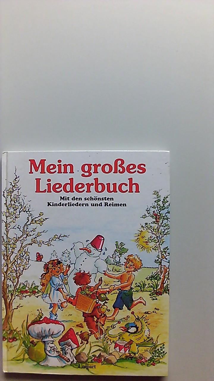 Mein grosses Liederbuch : mit den schönsten Kinderliedern und Reimen