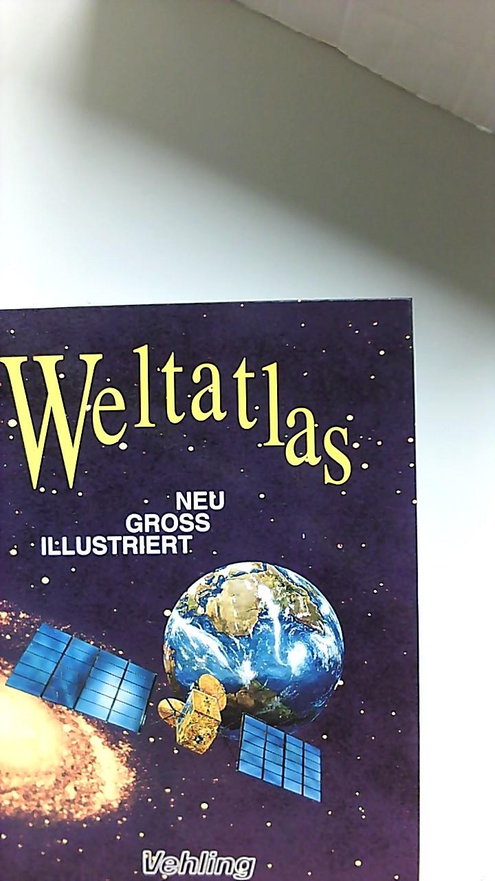 Weltatlas - neu, gross, illustriert