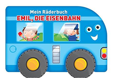 Mein Räderbuch - Emil, die Eisenbahn