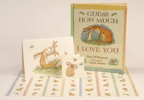 Guess How Much I Love Your Gift Pack Book, Greeting Card, Gift Wrap, Gift Tag