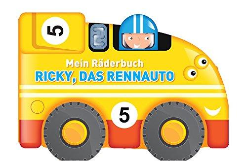 Mein Räderbuch - Ricky, das Rennauto