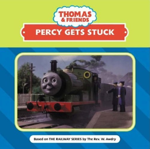 Percy gets stuck.