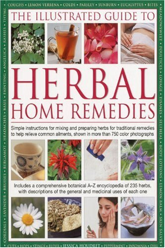 Jessica, Houdret: The Illustrated Guide to Herbal Home Remedies
