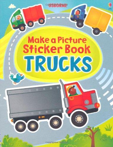 Katie, Lovell: Make a Picture Sticker Book Trucks