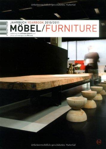 Möbel - Furniture Jahrbuch 2010 / 2011, m. DVD-ROM