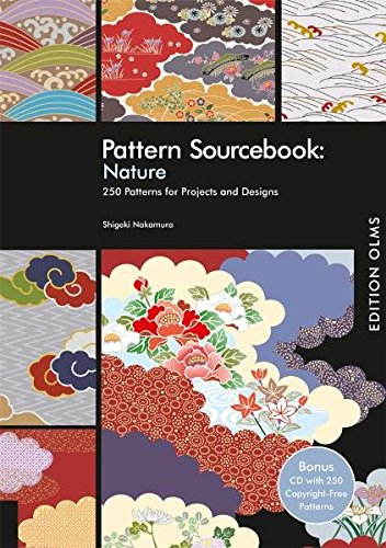 Pattern Sourcebook: Nature, w. CD-ROM 250 Patterns for Projects and Designs