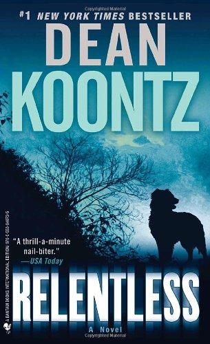 Relentless;   Blindwütig, englische Ausgabe A Novel