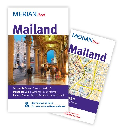 Mailand Mit Kartenatlas
