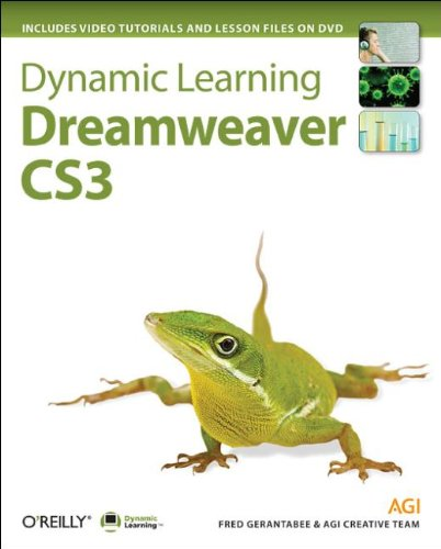Dynamic Learning Dreamweaver CS3, w. DVD-ROM On DVD: Video Tutorials and Lesson Files
