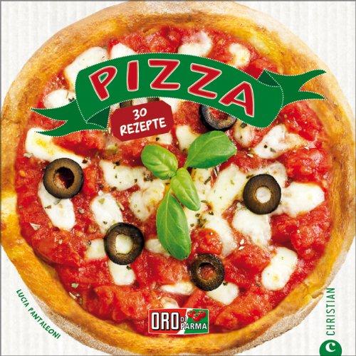 Pizza Buch mit 30 Rezepten + Pizza-Roller