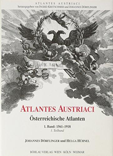 Österreichische Atlanten 1561 - 1918 3 Bände im Schuber