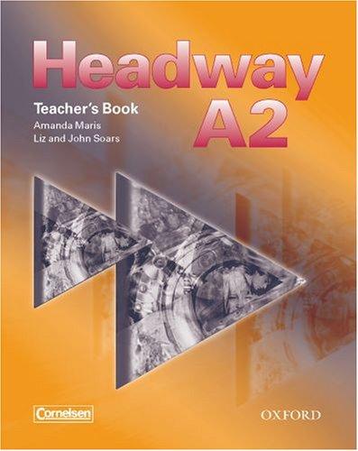 Headway A2. Teacher