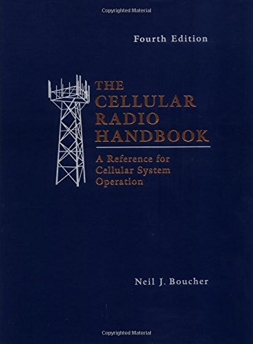 The Cellular Radio Handbook A Reference f Cellular System Operation