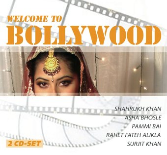 Welcome to Bollywood, 2 Audio-CDs. Mit Shahrukh Khan, Asha Bhosle, Pammi Bai u.a. (158 Min.)