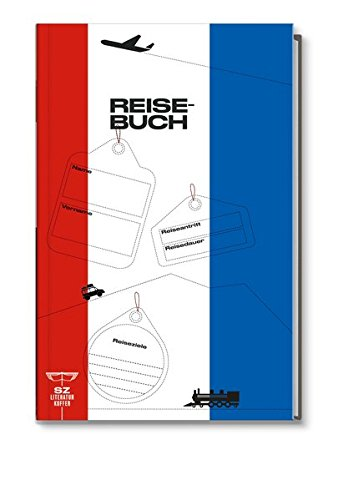 Reisebuch Frankreich - Ihr persönliches Reisetagebuch SZ Literaturkoffer Frankreich