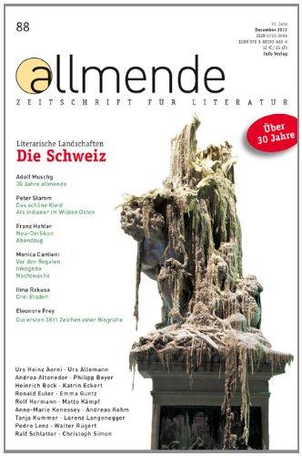 Allmen Zeitschrift für Literatur. Hrsg.: Literarische Gesellschaft Karlsruhe