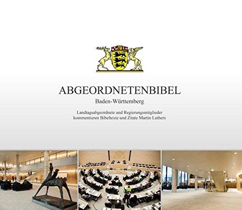 Gerwin, Hanno (Herausgeber): Abgeordnetenbibel Baden-Württemberg Herausgeber Hanno Gerwin